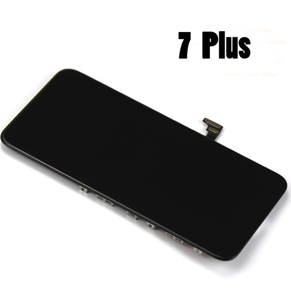 Test Working Well LCD Display for iPhone 7 Plus 5.5inch LCD touch screen digitizer Full set Assembly black