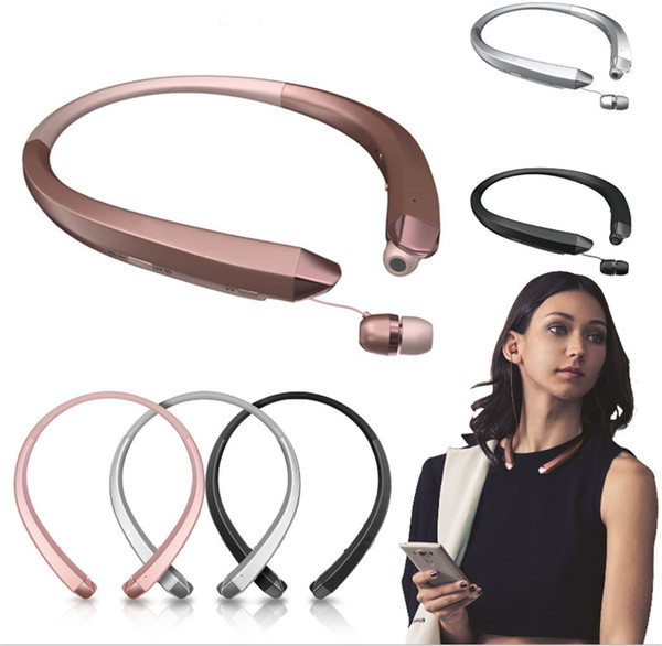 New Neckband Style Earphone Handsfree HBS-910 In-Ear Auricular Tone Stereo Wireless Bluetooth music Sports Headset for All Phone