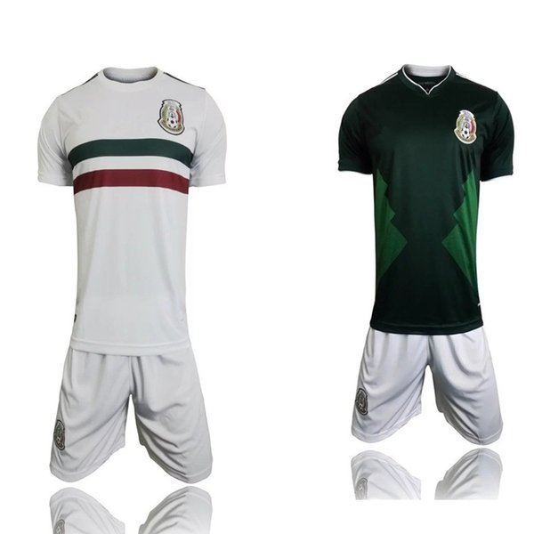 27eade1db81bc DHL Free Shipping, 2018 World Cup Jersey Mexico Home and Away Jersey Kit  Chicharito Thai