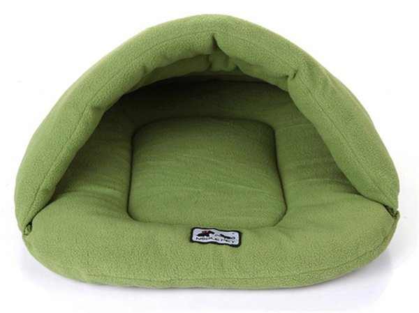 New Simple Style Warm Sleeping Bags Pet Kennel Pet Nest Dog Litters Medium and Small Animal House Free Shipping