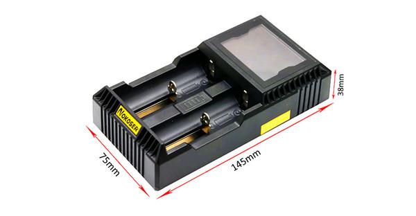 Al por mayor- Cargadores de tableta LCD Cargador de batería recargable Cargador USB para 26650 18650 18500 18350 17670 14500 batería de litio 3.7V
