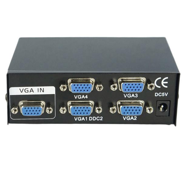 hot new 150MHz 2 Port Monitor Switch VGA SVGA Video Splitter Box Adapter USB Powered