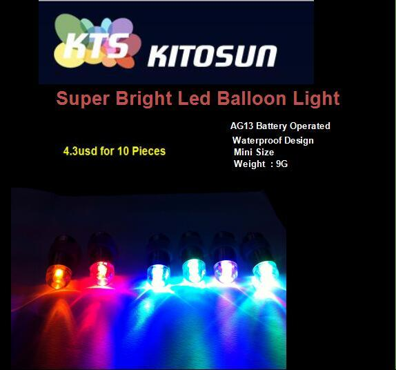 Free Shipping Colorful LED Mini Lamps Waterproof Balloon Lights for Paper Lantern Party Wedding Centerpieces Decoration Vases