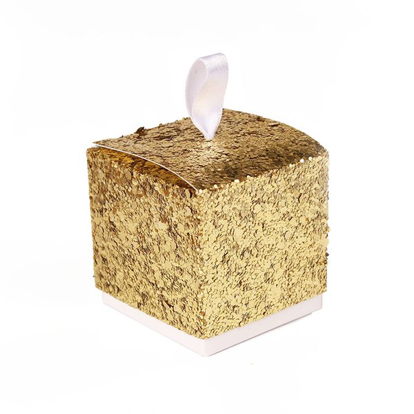Wedding Party Box 2016 NEW Gold/Silver Wedding Favor Boxes And Gift Box For Party Favors Supply 50PCS