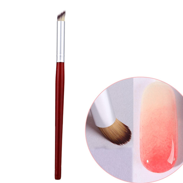 Professional 1pcs Nail Art Brush Builder UV Gel Tips Design Dotting Painting Pen Polish Brush pen For Manicure DIY Tool