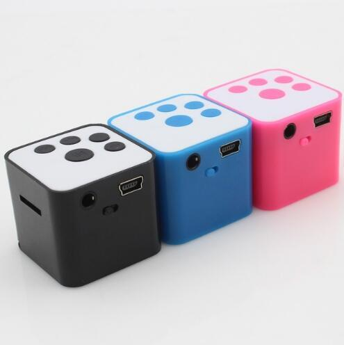 10pcs/lot New Fashion Portable Mini MP3 Player Support Card Campaign MP3 Music Player Built-in Speaker Free Shipping