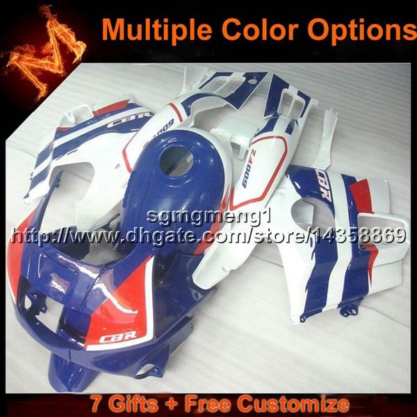 23colors + 8Gifts Cubierta de motocicleta color plata violeta oscuro para HONDA CBR600F2 1991-1994 CBR 600 91 92 93 94 Juego de carrocería ABS Plástico Fairing