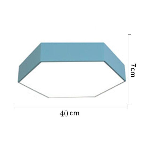 40 centimetri blu