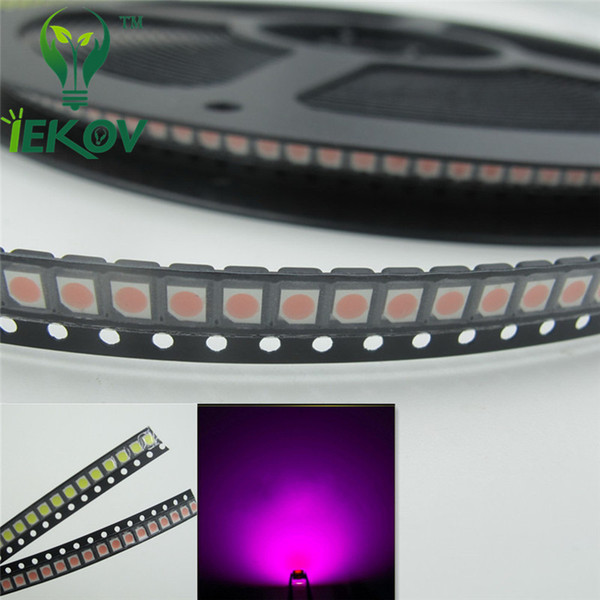 5000pcs PLCC-2 1210 3528 Pink LED SMD Ultra Bright Light Emitting diodes High quality SMD/SMT Chip lamp beads Hot SALE