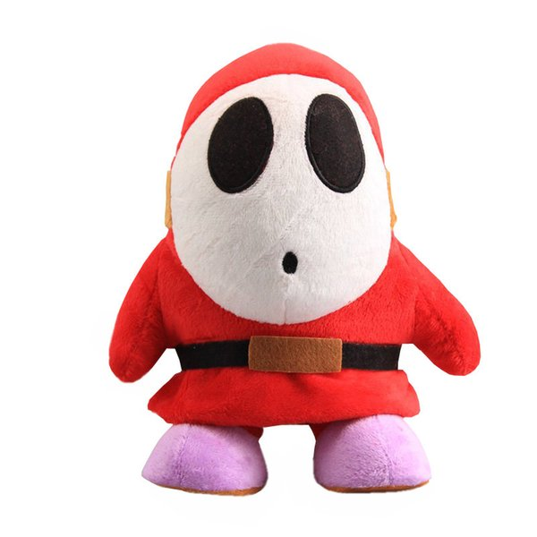 Hot Sale 16cm Shy Guy Super Mario Bros Plush Stuffed Doll Toy For Kids Best Holiday Gifts
