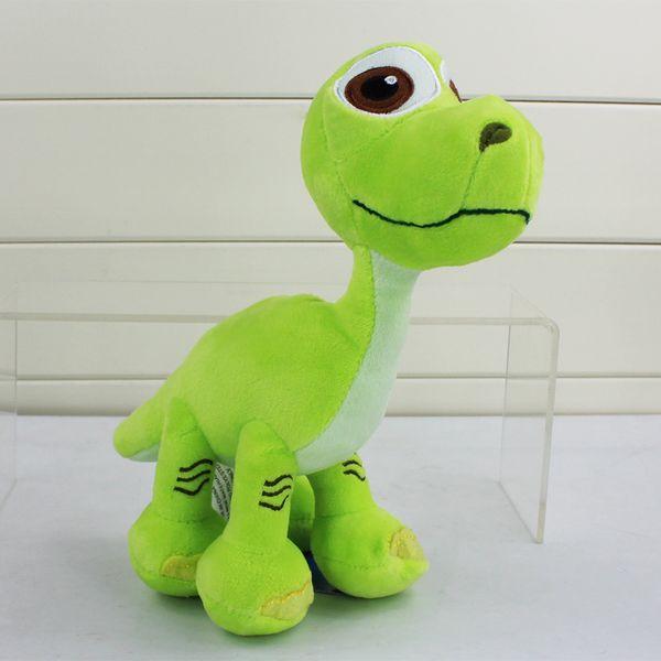 top popular Cartoon The Good Dinosaur Arlo Spot Plush Toy Stuffed Animals Plush Toys For Children Gifts 22cm Free Shipping EMSB 2019