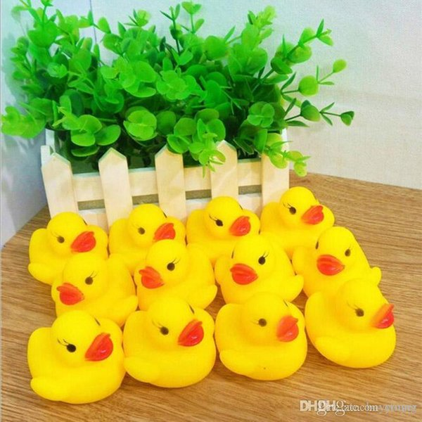 Baby Bathtub Toys Mini Yellow Duck Toys Gift For Kids Fast Delivery Factory Direct Bottom Price