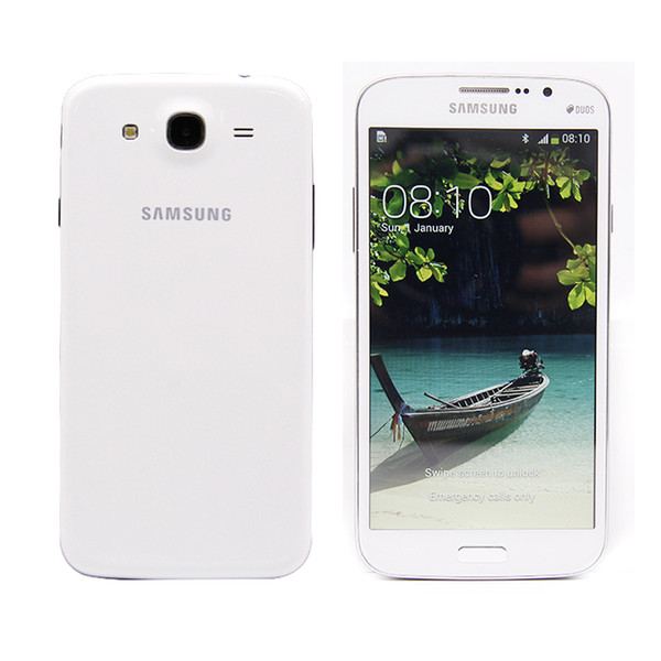 top popular Unlocked Original Samsung Galaxy Mega 5.8 Refurbished I9152 Cell Phone 5.8 inch Dual Core 1.5GB RAM 8GB ROM 8MP camera Mobile phone 2020