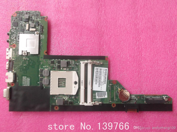 top popular 608204-001 board for HP pavilion DM4 DM4-1000 laptop motherboard with intel DDR3 hm55 chipset 2019