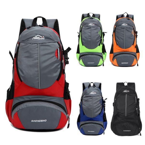 2016 New Vintage Adjustable Unisex Nylon Rucksack Shoulder Bags For Outdoor Camping Hiking Bicycle Sports Backpack Laptop Bag