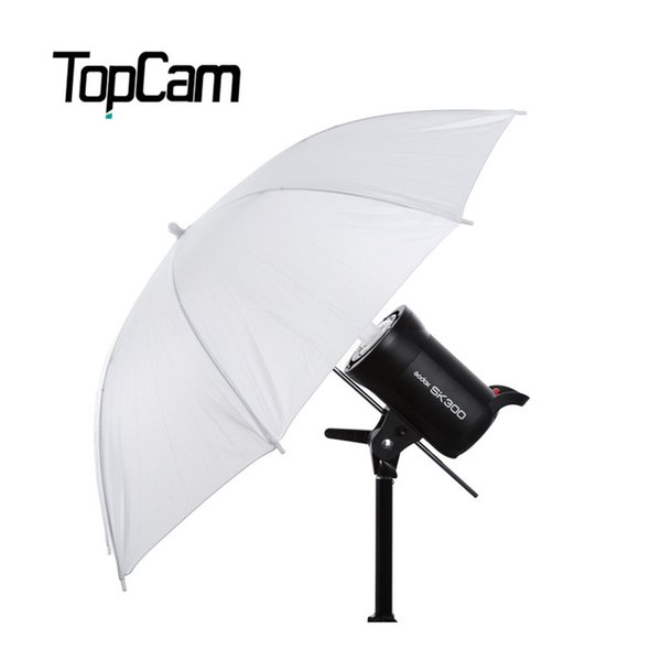 "Wholesale- 2017 New Photo High Quality Studio Video Umbrella Camera Soft 33"" Inch 83cm Photography Flash Lighting Translucent White"