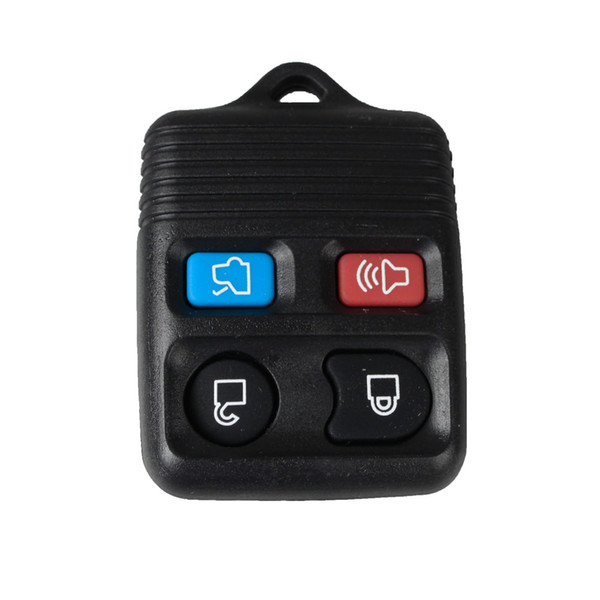 Guaranteed 100% 4Buttons Replacement Keyless Remote Car Fob Key Shell Key Case For Ford Mercury Lincoln PAD Free Shipping