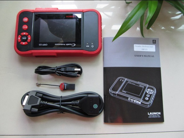 launch creader professional crp123 update on line auto Diagnostic Tool LAUNCH Creader 8 CRP123 Original Code Reader Scanner free shipping
