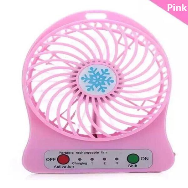 Mini Protable Fan Pink