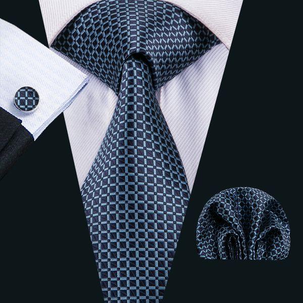 sito ufficiale prezzo più economico ufficiale Acquista Cravatte Da Uomo Classiche Di Seta Cravatte Blu Cravatte ...