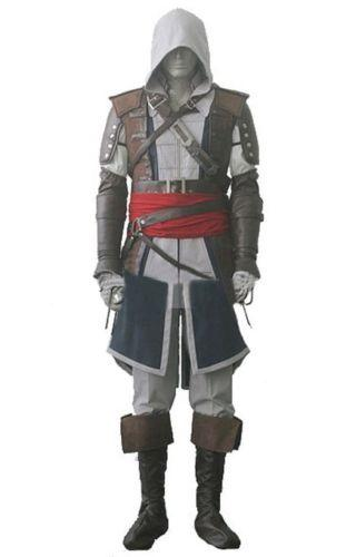 Assassins creed IV 4 mascot black flag Edward Kenway complete custom Halloween party clothing free delivery