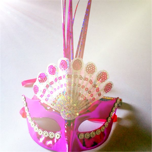 Luminous mask street hot flashes of products Night market flash toys manufacturers selling plastic mask