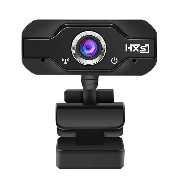 Webcam 720P HD Web Cameras Girevole 1280 * 720 Computer Web Cam Camera PC con microfono Microfono per Android TV Box Laptop Netbook