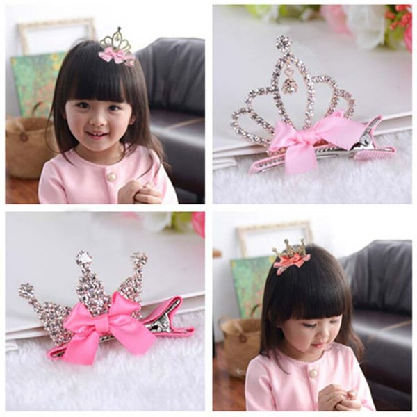 ea32d6ae51 ... Kids & Maternity ; Accessories ; Hair Accessories ;. 15% off! Cute  Style Baby Girls Children Shiny Crown Rhinestone Princess Hairpins Rabbit  Ears
