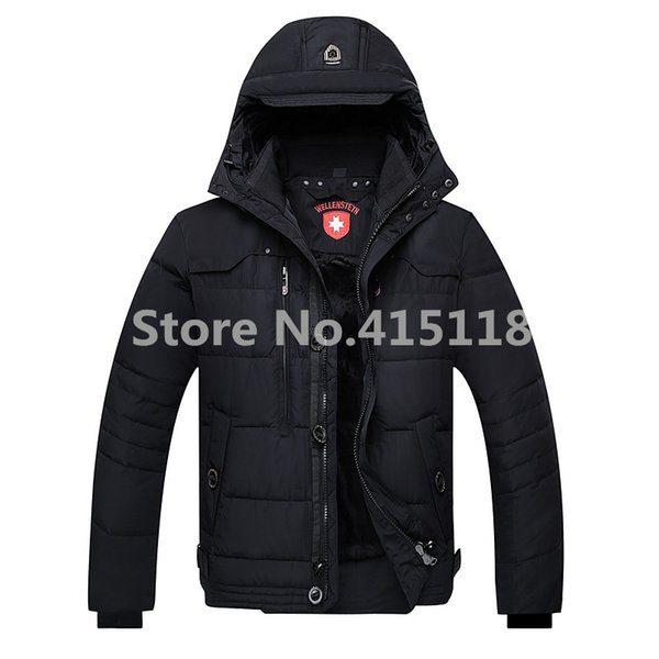 2019 Wholesale New Wellensteyn 2016 Male Winter Fashion Men'S Casual Thickening Camouflage Short Design Hooded Down Jacket Parka Coat Outerwear From