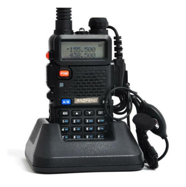 Hot sale BAOFENG UV-5R Walkie Talkie Dual Band Radio 136-174Mhz & 400-520Mhz handheld Two Way Radio free shipping