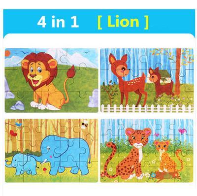 Color:4 in 1 Lion