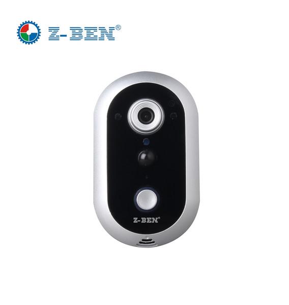 2019 Hot Sell 1280X720P HD Wireless Wifi Doorbell Camera + Indoor Bell+ Video Door Phone Intercom Waterproof IP65 for Smartphone