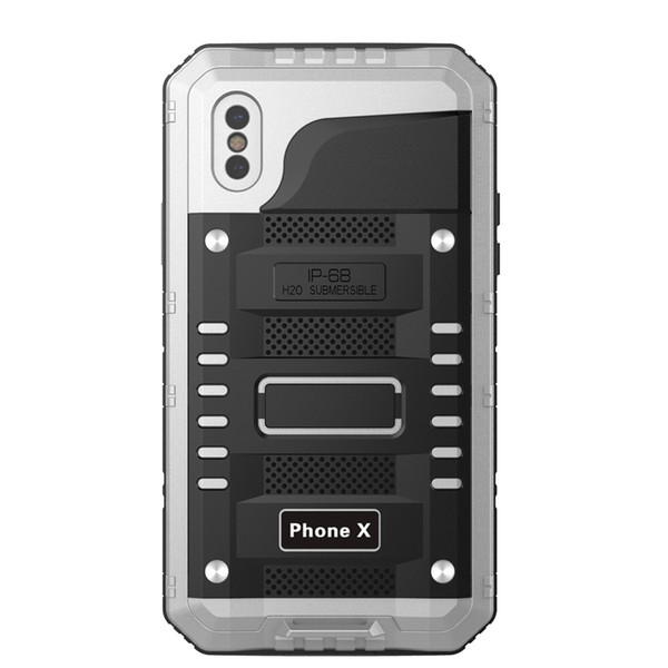 For iphone X Waterproof Case, Full Body Protective, Shock proof, Scratch-proof,Water proof With Sensitive Screen Protector