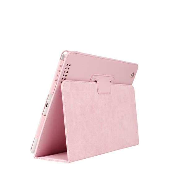 For Apple ipad 2 3 4 Case Auto Sleep /Wake Up Flip Litchi PU Leather Cover For New ipad 2 ipad 4 Smart Stand Holder Folio Case cover