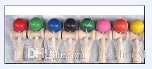 15 Colors Available 19CM Kendama Toy Japanese Traditional Wood ball Game Toy Education Gifts, 200PCS