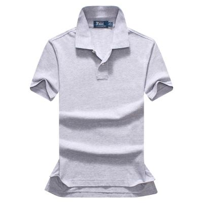 Free shipping 2018 summer high quality men's Polo shirt men's short sleeves leisure fashion polo men's solid color Polo shirt size S-XXL