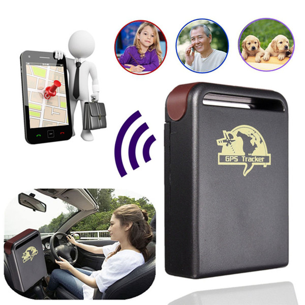 Car GPS Tracker GPS GSM TK102-2 Personal GPS Tracker With Shock Sensor Alarm Function+Flash Memory Card Slot