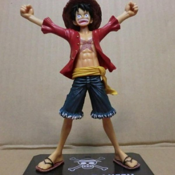 One Piece Anime Figuarts Zero Monkey D. Luffy PVC Figure the New World Toy 15cm