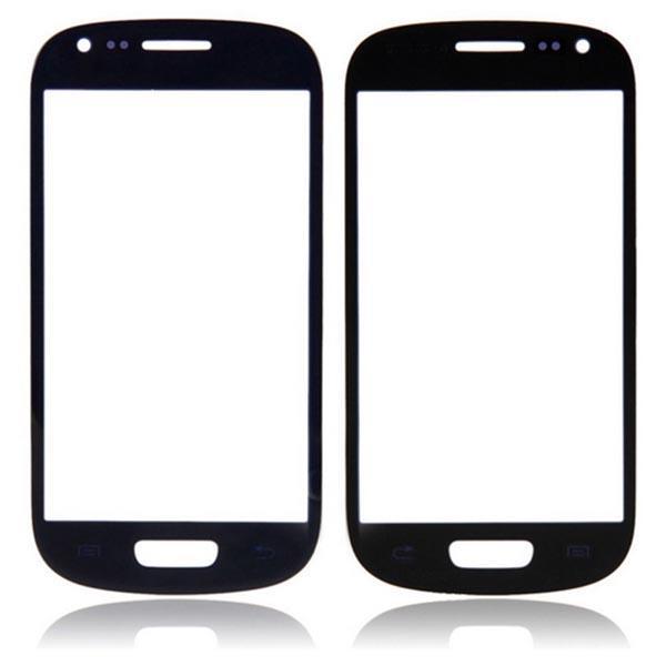 DHL verschiffen Äußere Frontglas Objektiv Screen Digitizer Touchscreen für Samsung Galaxy S3 SIII I9300 Schwarz Weiß Hohe Qualität