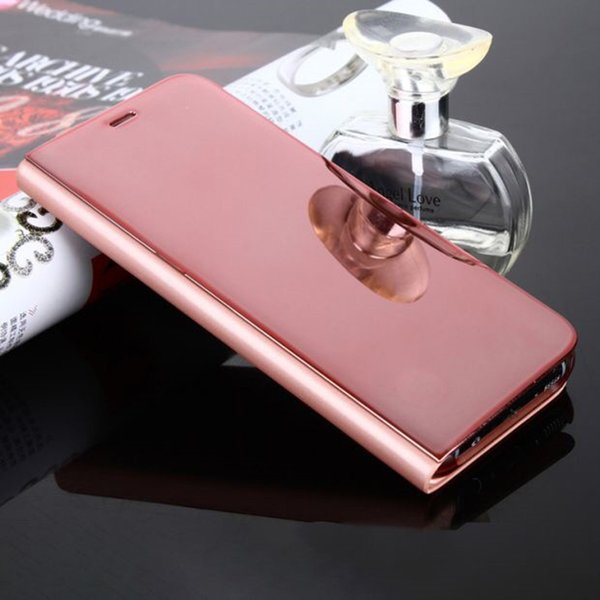 Plating Mirror Phone Cover Case for Samsung S8 Plus Cheap Cell Phone Accessories for Samsung Water-proof Mobile Phone Cases