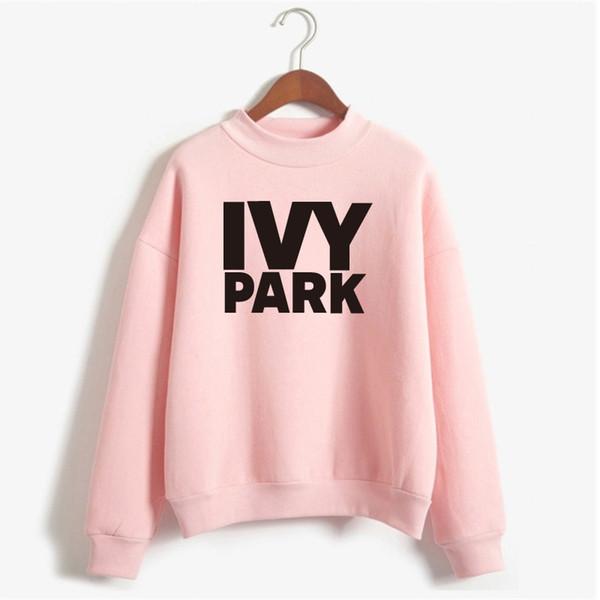 Vente en gros- Beyonce IVY PARK Sweatshirt Hiver Femmes 2017 Sweats Sweats à Capuche Manches Longues Polaire Imprimer Survêtement Hoodies NSW-20003