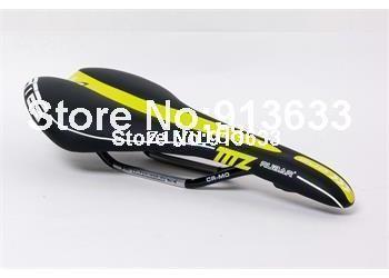 Hot Selling New RUBAR Emir Road/MTB Bike Bicycle Seat Saddle Black/Yellow Free Shipping