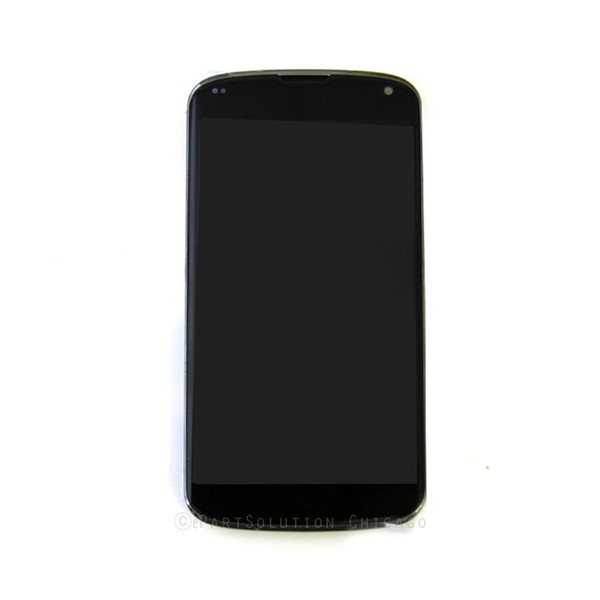 Nuovo LG LG Nexus 4 E960 LCD Touch Digitizer Screen Assembly Housing OEM