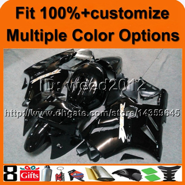 23colors+8Gifts Injection mold Tank cover glossy black ABS article ZX12R 2002 2003 2004 motorcycle fairing for Kawasaki Ninja