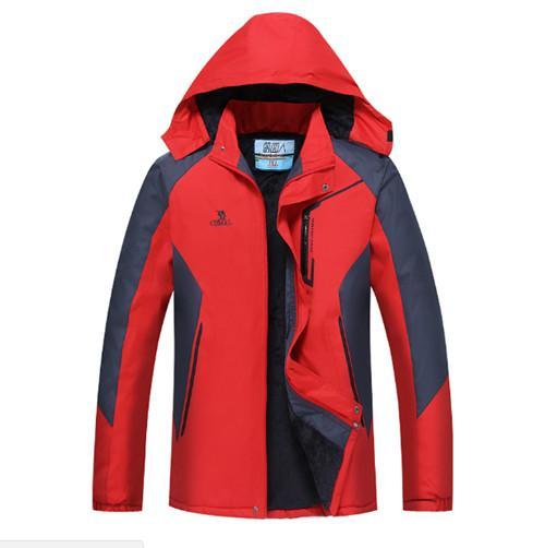 top popular Long Sleeve Men jacket Coat Autumn Sports Outdoor Windrunner with Zipper Windcheater Men Outerwear Clothing 2XL-4XL 2021