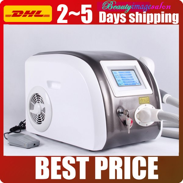 New Q Switch Nd Yag Laser Tattoo Removal Eyebrow Age Spot Freckle Reduce Skin Care Salon Beauty Machine