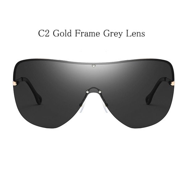 C2 Gold Frame Grau Linse
