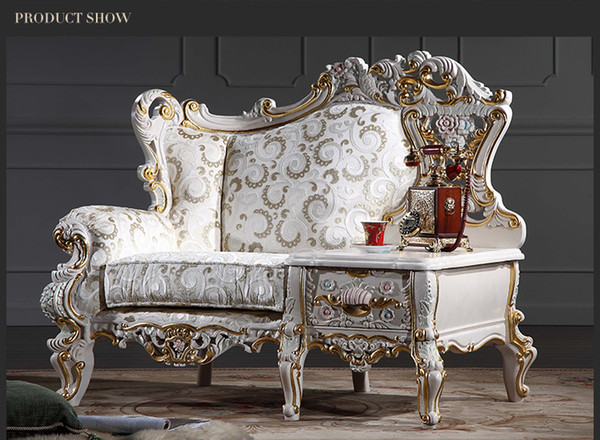 Marvelous 2019 Baroque Living Room Sofa Furniture European Classic One Person Chair With Table Italian Luxury Classic Sofa Set From Fpfurniturecn 2160 81 Gamerscity Chair Design For Home Gamerscityorg