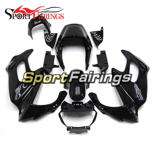 Complete motorcycle Fairings Gloss Black For Honda VTR1000F 97 98 99 00 01 02 03 04 05 1997 2005 ABS Plastic Motorcycle Fairing Kit Cowlings