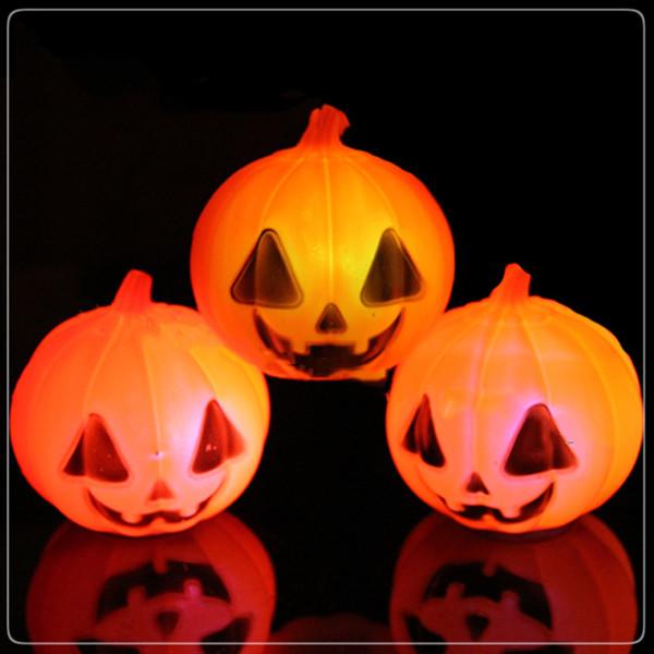 Super bright Halloween Props Night Lamp LED Pumpkin Light Hanging Indoor Party Festival Decoration Scary Halloween Decor Night Light